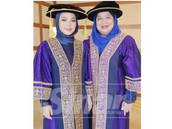 VVY (kiri) dilantik sebagai Ahli Lembaga Pengarah UiTM oleh Kementerian Pendidikan pada bulan Mei lalu.