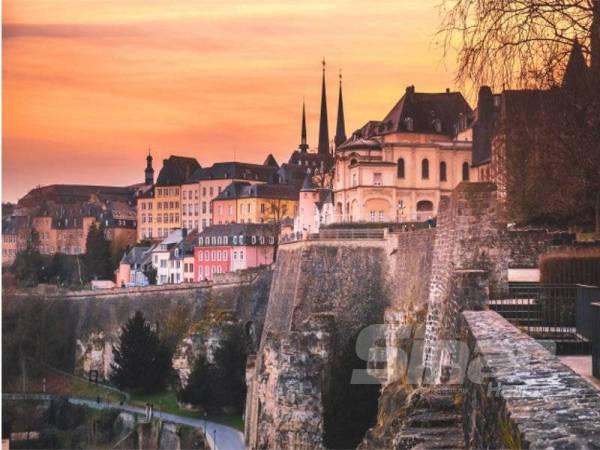 LUXEMBOURG, negara Eropah yang kecil, namun berjaya menduduki carta ke-7 negara terbersih di dunia.