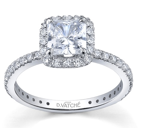 Modern  Beautiful Vatche Engagement Ring 1002