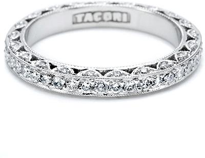 Tacori Pave Diamond Eternity Band 34 Ct Tw HT2259B