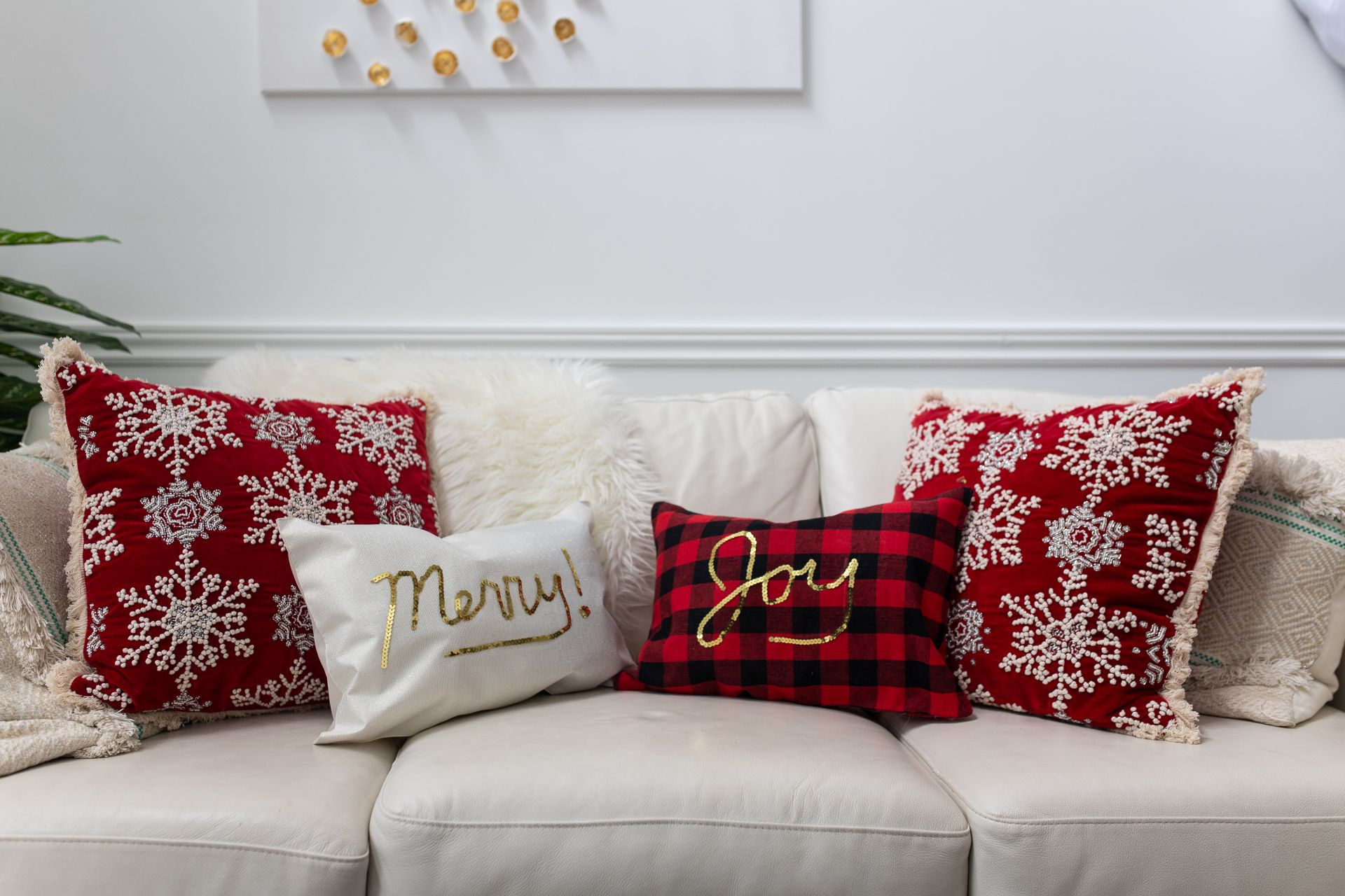 Diy Christmas Placemat Pillows Tutorial Sincerely Miss J