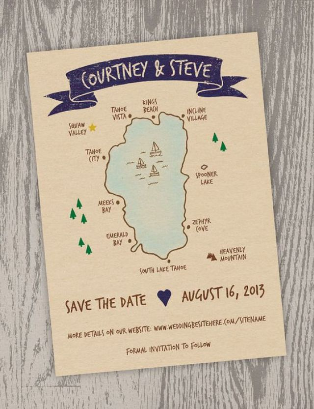 creative save the date
