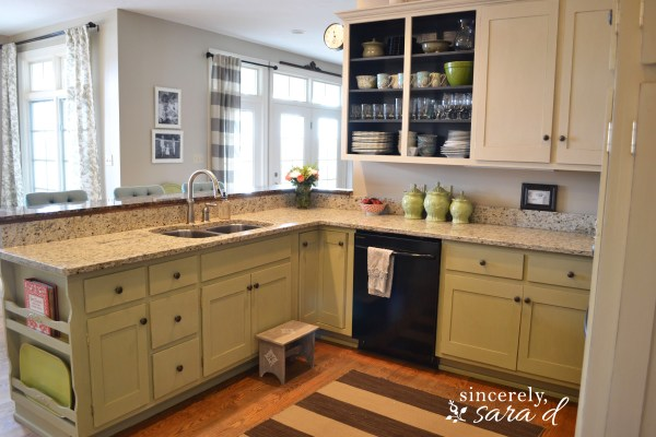 Painting Kitchen Cabinets With Chalk Paint - Update Sincerely Sara