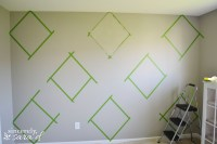 Argyle Painted Wall - Sincerely, Sara D.