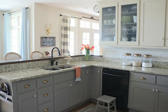 Why I Repainted My Chalk Painted Cabinets Sincerely Sara D