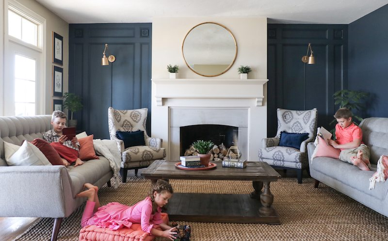 Living Room Makeover with The RoomPlace  Sincerely Sara D