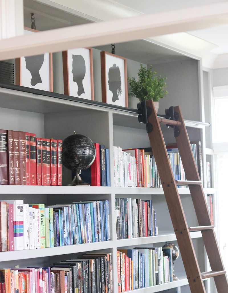 Rolling Library Ladder Custom Service Hardware Sincerely