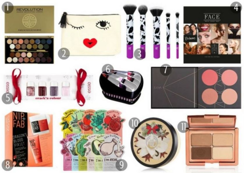 Christmas Gift Guide 2016 Beauty Lovers £20 and under
