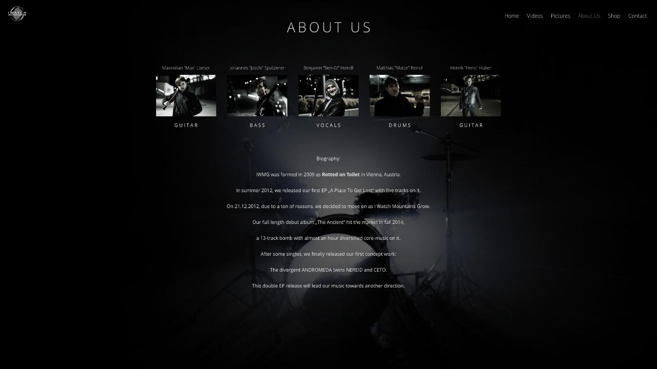 4 About Us - Web Design
