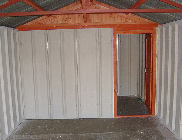 Concrete Garages and Sheds Optional Extras Leeds West Yorkshire  HK Sinclair