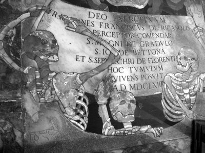 Cathedral tombstone