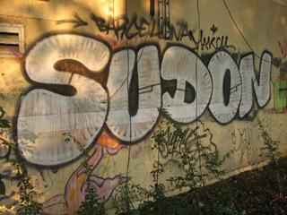 Grafitti near the Oxford Canal