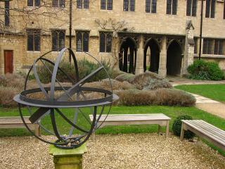 Quad in St. Cross College, Oxford