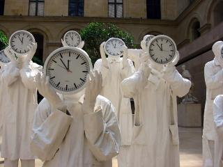 Contemporary art in the Louvre