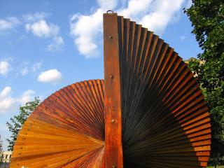 Ottawa wooden sculpture