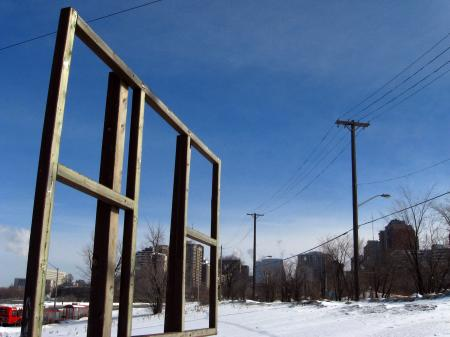 Billboard frame, Ottawa
