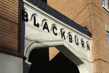 'Blackburn' sign