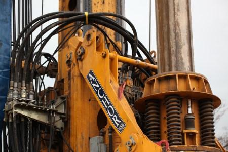 Large industrial auger