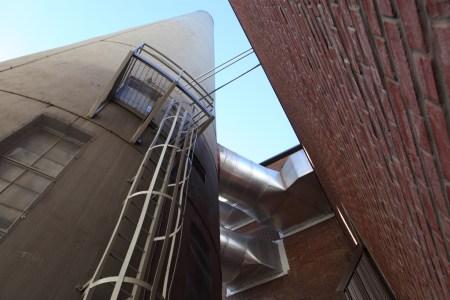 Smokestack and ladder