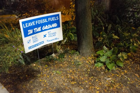 """Leave Fossil Fuels in the Ground"""