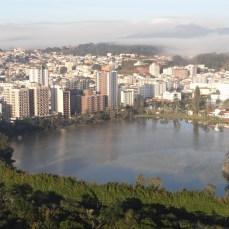 Lago do Parque das Águas de São Loureço MG.