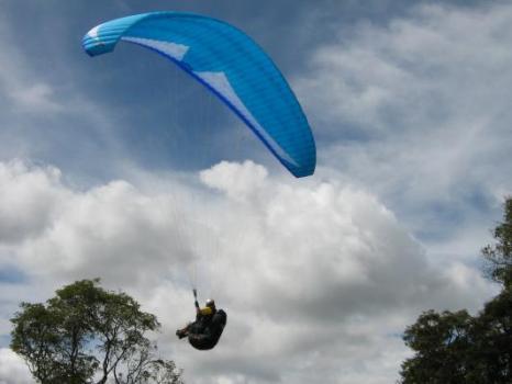 Paraglider em São Lourenço MG