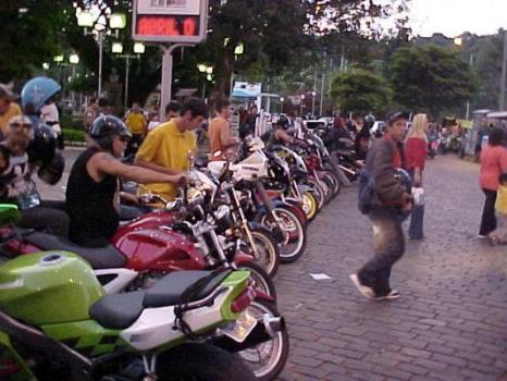Encontro de Motos em Sao Lourenço MG