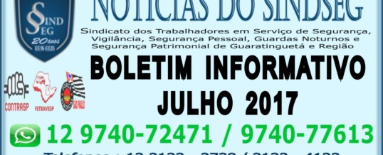 Boletim Informativo Julho 2017
