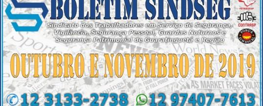 Boletim Informativo Outubro e Novembro 2019