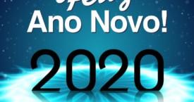 Um Feliz e Próspero 2020