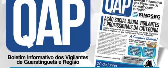 QAP Jornal dos Vigilantes – Janeiro e Fevereiro 2021