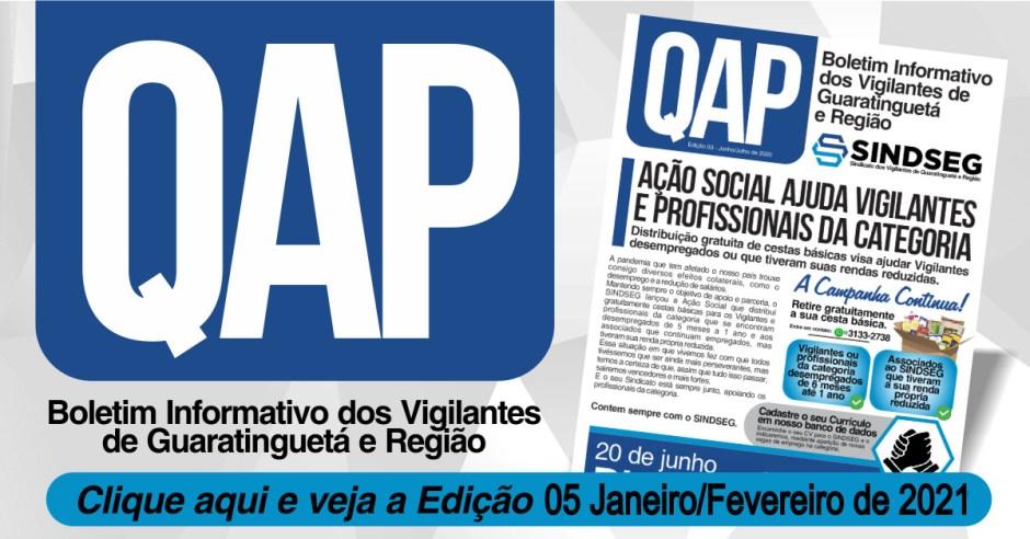QAP o Boletim informativo do Sindseg Edição Nº 05