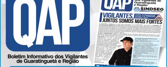 QAP Jornal dos Vigilantes – Abril e Maio 2021