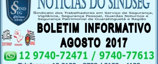 Boletim Informativo Agosto 2017