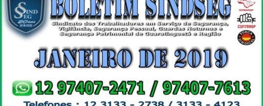 Boletim Informativo Janeiro 2019