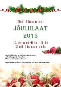 Sindi Gümnaasiumi jõululaat 2015_UUS