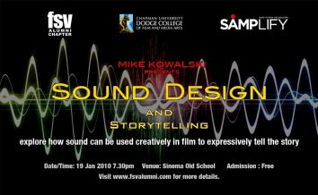Sound Design and Storytelling