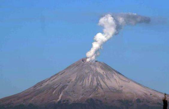 El volcn Popocatpetl amanece con fumarolas ha perdido 5 de sus 7 glaciares  SinEmbargo MX
