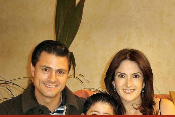 Peña Nieto tuvo un hijo con Maritza Díaz. Foto: Especial