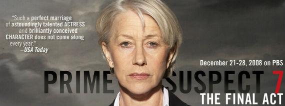 Helen Mirren en Prime Suspect. Foto: Especial
