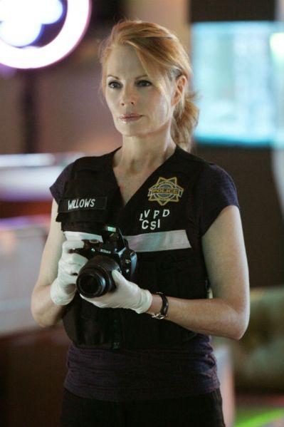 Marg Helgenberger, de CSI Las Vegas. Foto: Especial