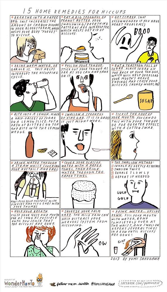 15 REMEDIOS PARA QUITAR EL HIPO