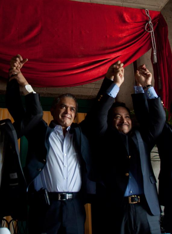 Serrano y Mancera. Los días de su confirmación. Cuando repite como Secretario de Gobierno. Foto: Cuartoscuro