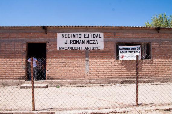 Bienvenidos a Bacanuchi. Foto: Antonio Cruz, SinEmbargo