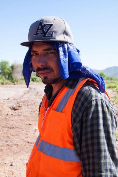 Rostros de los trabajadores. Foto: Antonio Cruz, SinEmbargo