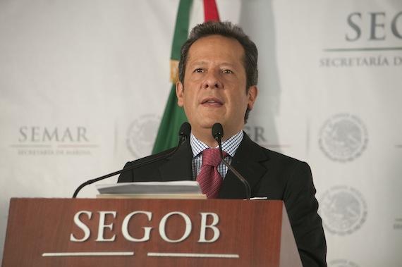 """Sanchéz Hernández comentó que la investigación de la PGR sobre la desaparición de los normalistas """"se ha llevado a cabo bajo los más altos estándares de investigación a nivel internacional"""". Foto: Cuartoscuro."""