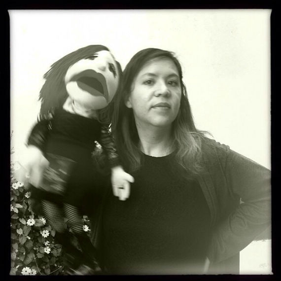 La escritora mexicana que cultiva como pocos el género fantástico combinado con el humor y el absurdo. Foto: Facebook