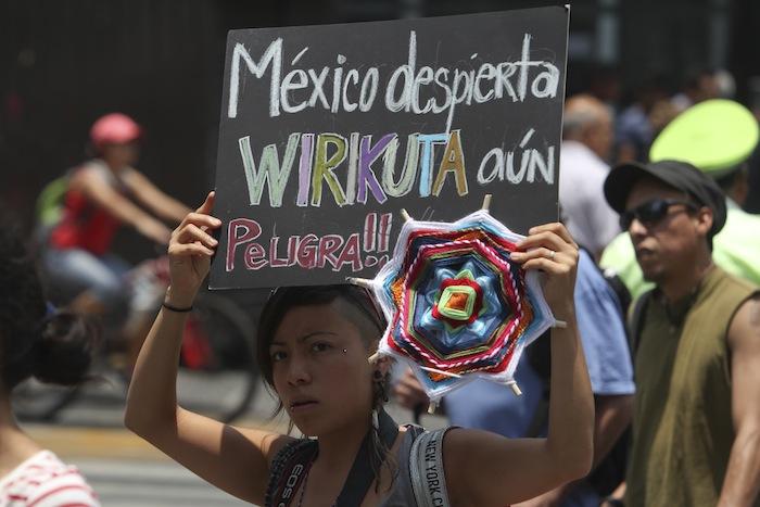 La defensa de los pueblos indígenas de sus lugares sagrados ante consorcios mineros, se ha replicado en el país. Foto: Cuartosuro