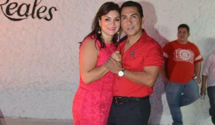 José Luis Abarca y María de lo Ángeles Pineda Villa. Foto: Especial.