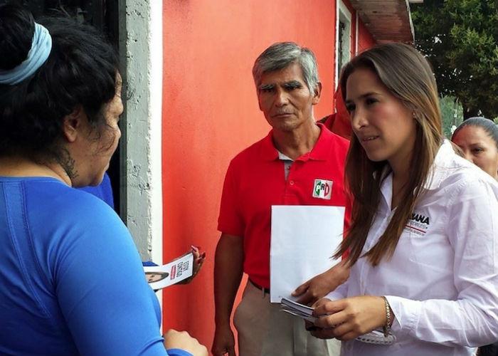 Mariana Moguel es candidata del PRI. Foto: Twitter @MarmoguelR